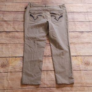 INC International Concepts Jeans - NWT INC 16W grey denim jeans
